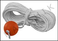 X4008 LIFE LINE-W/ BALL 60 FT
