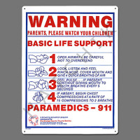 "X4015 SIGN-""BASIC LIFE SUPPORT"" #40367 #40367"