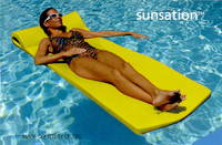 Y1000 SUNSATION POOL FLOAT 8020012 COLOR: YELLOW