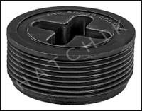 Z5032 SYLVAN-JOSAM PLUG 1-1/2 BLACK PLASTIC - FLUSH (CMP)