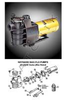 K4029 HAYWARD-MAX FLO PUMP 1-1/2 HP