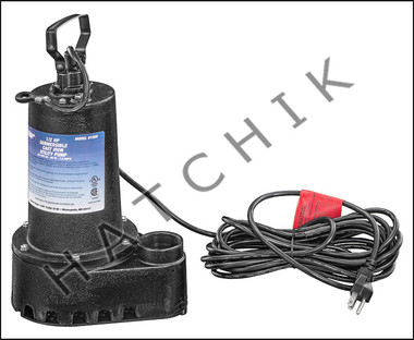 K1040 SUPERIOR SUMP PUMP 1/2HP MANUAL 25' CORD W/OUT FLOAT SWITCH