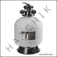 """H4180 JANDY SAND TOP MOUNT FILTER 22""""  W"""