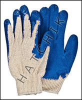 V7096 VINYL PALM GLOVES - BLUE (X-LARGE) SOLD IN PAIRS