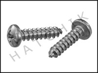 "E2595 POLARIS 6-302-00 SCREW PAN #10 X 3/4"" (2/BAG)"