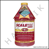 A3430 EASY CARE SCALETEC PLUS 1/2 GALLON CALCIUM POOL DESCALER, IRON & SCUM