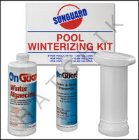 A3931 ON GUARD 7.5K WINTERIZING KIT #1 UP TO 7500 GALLONS