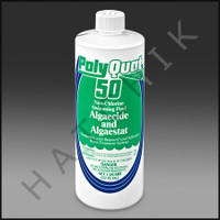 A4600 ALL CHLOR POLYCIDE 50 #2030 18x1QT ALGAECIDE & KILLER  18 X 1 QT