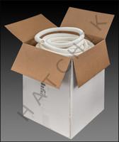 "F1010 VAC HOSE CLASSIC REG 1-1/4"" X 252' BLUE OR WHITE"