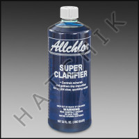 A4851 ALL CHLOR SUPER CLARIFIER 18 x 1QT 18 X 1QT CASE       #3050