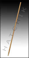 """F5080 60"""" TAPERED WOOD HANDLE-THICK"""