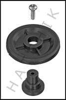 F7658 JANDY R0379800 RAY-VAC SIDE WHEEL KIT, GUNITE COLOR: BLACK