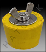 FF5007 WINTERIZING PLUG #7 (YELLOW) **N/A WHEN OUT - USE FF1007**