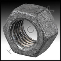 G3055 NUT-HEX HEAD 1/2-13 GALVANIZED GALVINIZED