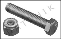 G4023 DURAFLEX 528 ANTI-RATTLE BOLT W/ SF111 NUT