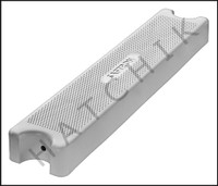"""G9100 SAFTRON PLASTIC LADDER TREAD WHITE 3.75"""" WIDE X 20"""" FITS MOST LADDERS"""