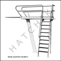 H1171 TOWER-CANTILEVER THREE METER SWAN CAT-3M-203L  LEFT MOUNT