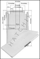 H1218 PARAGON PARAFLYTE FOOTBOARD #20710