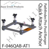 H1268 AQUA CREEK QUICK ATTACH ANCHOR KIT FOR PRO-POOL LIFT/RANGER  F-046QAB
