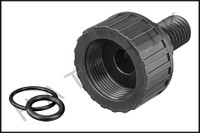 H2104 JANDY R0552000 TANK ADAPTER W/ O-RING  DEL/CL SERIES FILTER