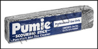A6103 NATURAL PUMICE STONE STICK STICK 4 OZ