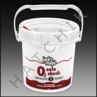 "A6726 JACK'S MAGIC ""O2"" SAFE SHK. 2 x 5# 2 X 5lb"