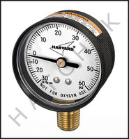 "H7022 GAUGE-2"" VACUUM/PRESSURE 1/4"" IN IPCG3602-4L REPLACES IPVG602-4L 11/10"