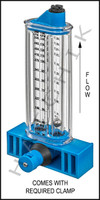 """H7037 FLOWMETER- ROLACHEM 2"""" VERT. VERTICAL MOUNT 40-140 GPM"""