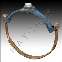H7120 SADDLE TEE CLAMP-CAST IRON 8