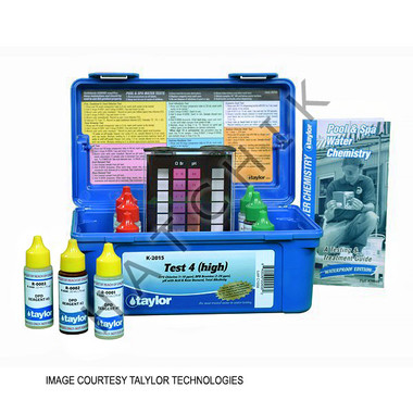 B1082 TAYLOR TEST KIT K-2015 CHLORINE DPD/pH/AD/TA