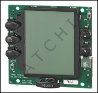 J5930 JANDY #R0550800 PCB SUB ASSEMBLY W/BLACK BUTTONS & LCD