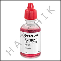 B1112 RAINBOW 1oz #2 PHENOL RED TEST REAGENT                R161178