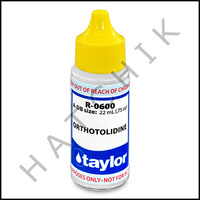 B1132 TAYLOR 3/4oz OTO TEST REAGENT R-0600-A
