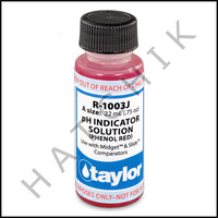 B1134 TAYLOR 3/4oz PHENOL RED TEST REAGENT             R-1003J-A