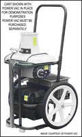 K3192 POWER VAC SERV.CART TRUCK MT. W/HD SWITCH,PLUG & CHARGE PLUG