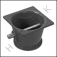 K3533 CMP ROPE ANCHOR/DK GRAY W/STEEL PIN  25568-007-000