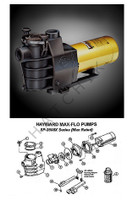 K4014 HAYWARD MAX-FLO PUMP 3/4 HP SP2805X7