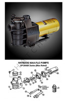 K4016 HAYWARD MAX-FLO PUMP 1 HP SP2807X10