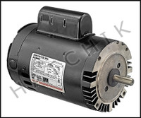 K5063C MOTOR - KEYED SHAFT 1-1/2 HP 2-SPEED  MAGNETEK  B976  230V