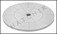 L1001G AMERICAN 850005 SKIMR LID  GENERIC 9-1/8 SKIMMER LID WHITE   V50-115W