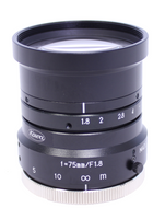 "LM75HC, 50.0mm, 1"" Format, SWIR, Megapixel Fixed Lens, C-mount, F/1.4"