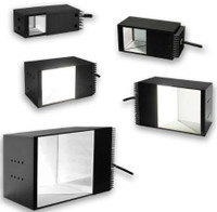 "Square Coaxial Light, 2"" x 2"", DL225-050CCCPP/XXX"