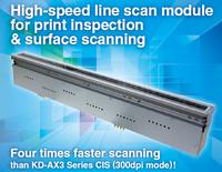 Contact Image Sensor (CIS) line scan camera, Camera Link