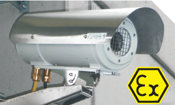 The IRCamSafe Ex-ABX/C is ATEX certified