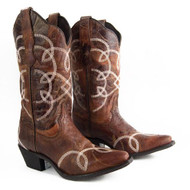 Laredo Women's 52302 The Happy Hour Western Cowgirl Boots
