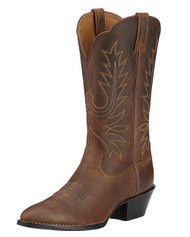 ARIAT 10001021 Womens Heritage Western Distressed Brown Leather Boots