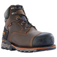 "Timberland PRO Boondock 92615 Mens Dark Brown Leather 6"" Composite Toe Waterproof Boots"