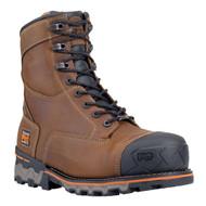 "Timberland PRO Boondock 92671 Mens Brown 8"" Composite Toe Waterproof Boots"