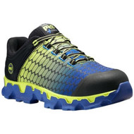 Timberland PRO A1GTK Mens Black/Yellow/Blue Powertrain Sport Alloy Toe SD+ Work Shoe