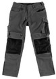 Fantastic Quality Work Trouser in Anthracite/Black